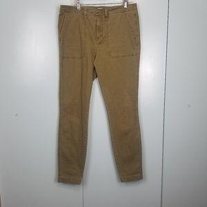 J.Crew Green Olive skinny jeans size 28 -C9